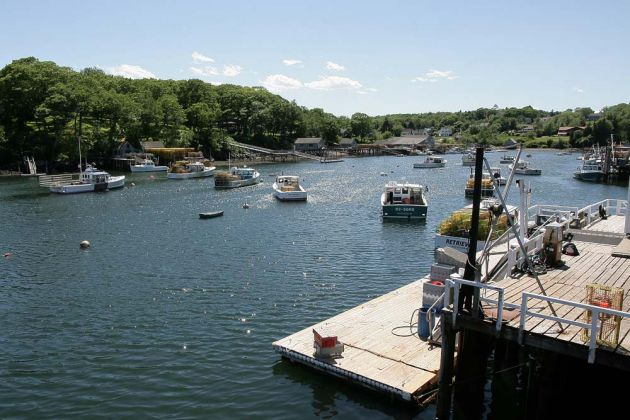 New Harbor, Midcoast Maine, New England