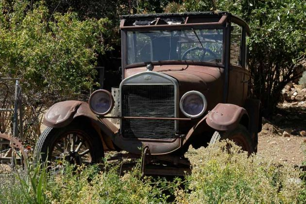 Ford T-Modell 'Tin Lizzie' - in Virginia City, Nevada