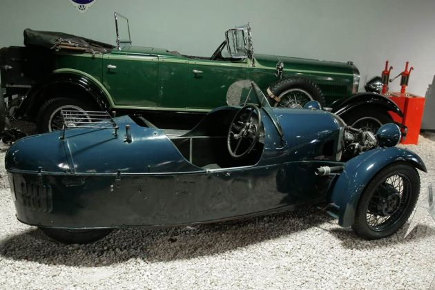 Morgan Super Sports 2-Seater - Threewheeler, Baujahr 1934