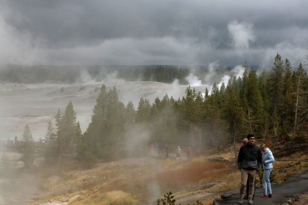 Yellowstone National Park - Norris Geyser Basin
