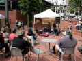Portland, Oregon, Downtown - Farmers Market auf dem Pioneer Courthouse Square