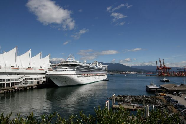 Vancouver Convention Centre East, Canada Place und Cruise Ship Terminal