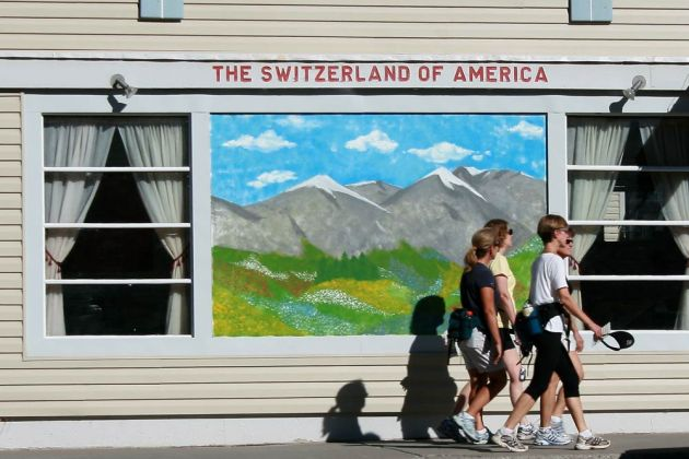 The Switzerland of America - Abram Inn, Ouray, Colorado