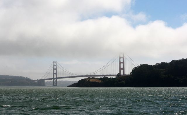 Golden Gate Bridge - San Francisco Bay, Kalifornien