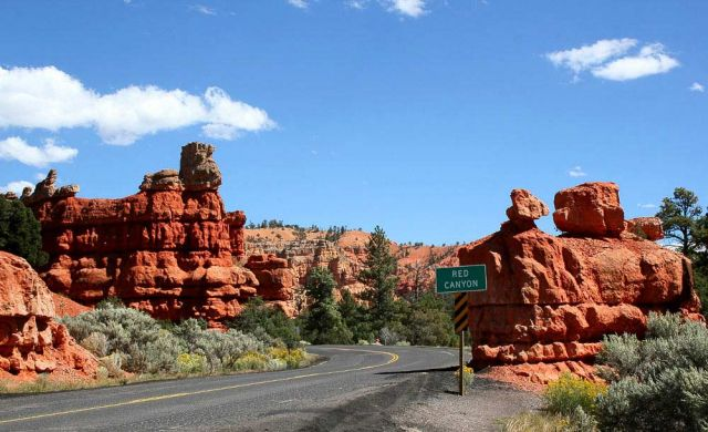 Red Canyon - Utah Scenic Byway